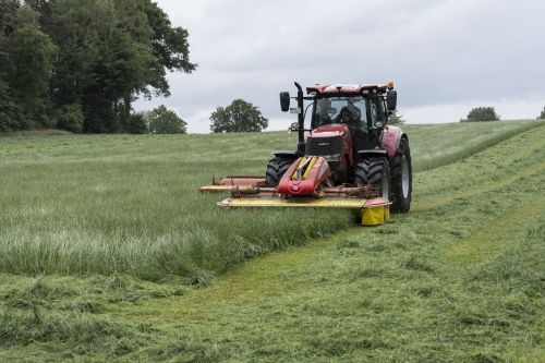 lawn mowing tractor mow