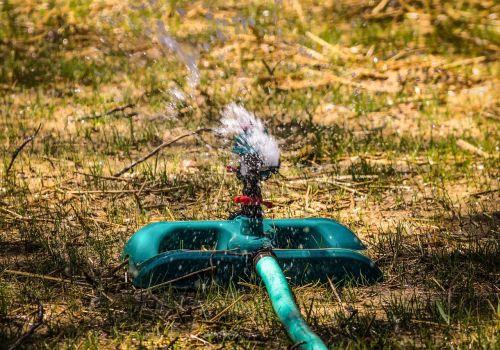 lawn sprinkler impact sprinkler lawn maintenance