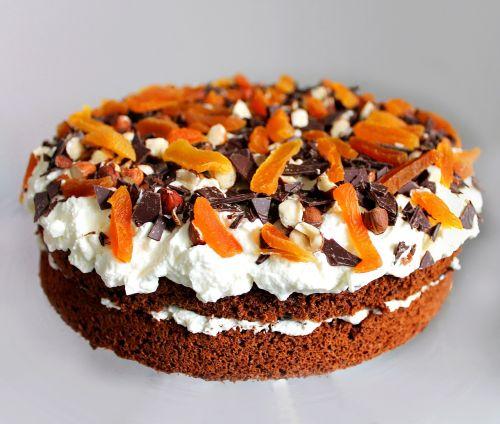 layer cake rye bread pie dessert