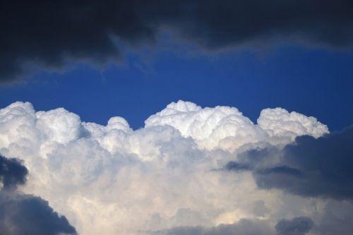 debesis, balta, tamsi, dangus, sluoksniai, debesies ir dangaus sluoksniai