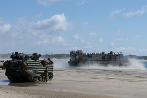 lcac landing air cushion rapid delivery
