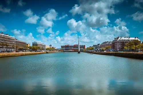 le havre  france  normandy