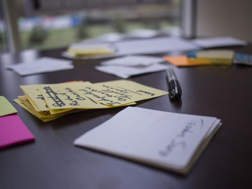 lean startup post-it workshop