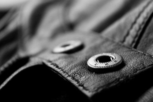 leather jacket garment