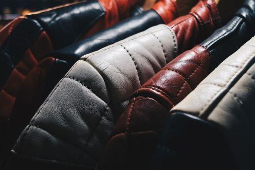 leather jacket hang