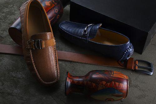leather wear fashion