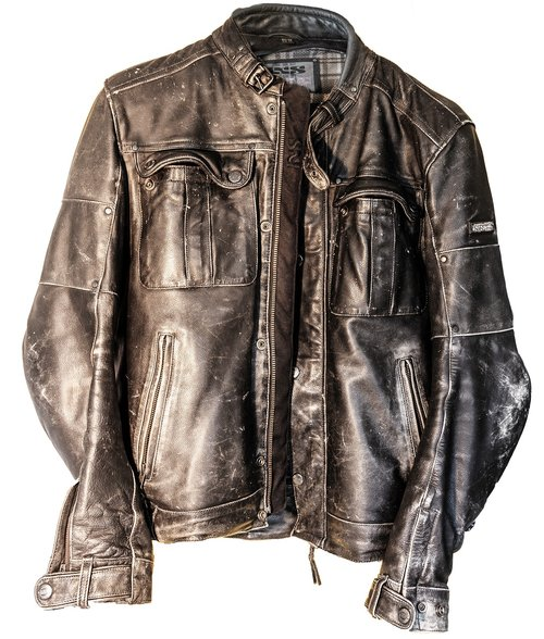 leather  leather jacket  biker jacket