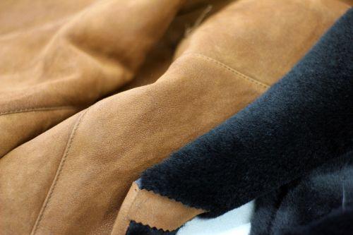 leather clothing background
