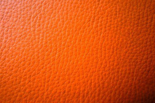 leather orange background