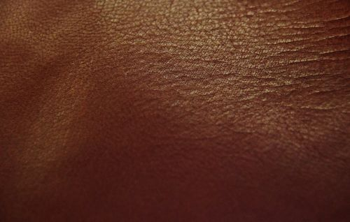 leather brown red