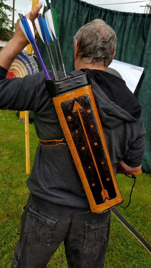 quiver archer leather accessories