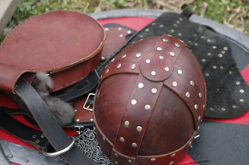 leather amour live action role playing dagorhir games