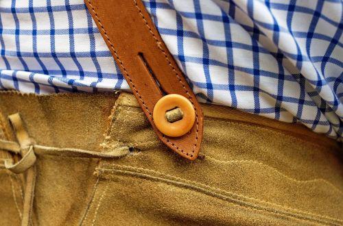 leather pants costume customs