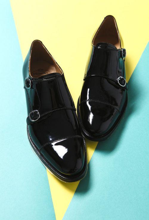 leather shoes fashion color
