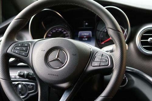 leather steering wheel mercedes auto detail