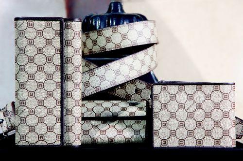 leather swing beat purse belt