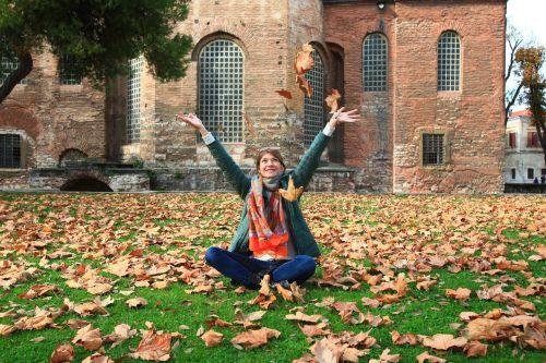 leaves autumn listopad