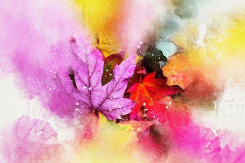 leaves nature art
