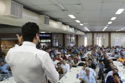 lecture presentation event