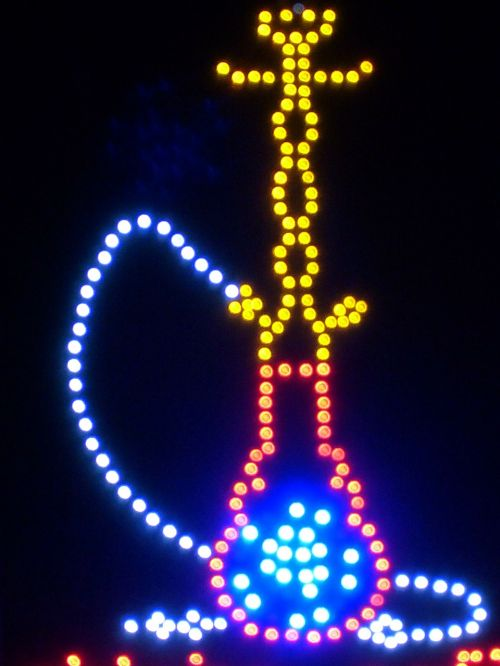 led light light ad