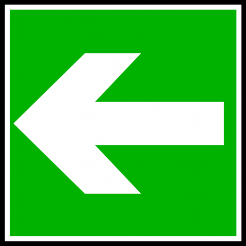 left arrow symbols