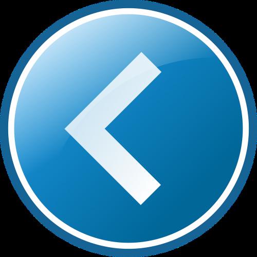 left arrow button