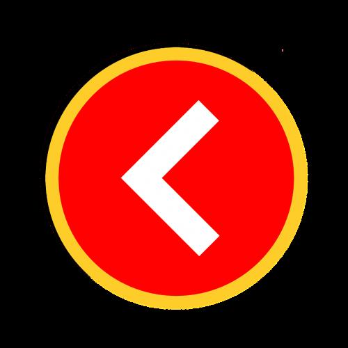 left arrow web design clipart
