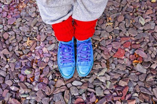 leg foot shoe