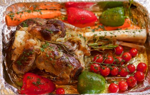 leg of lamb tjena-kitchen vegetables
