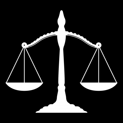 legal scales of justice judge