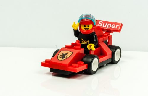 lego figure race