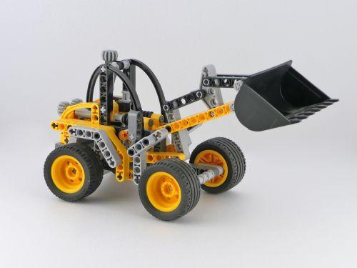 lego constructor tractor