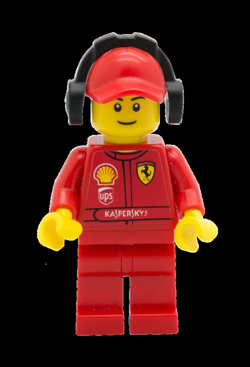 lego figurine racer