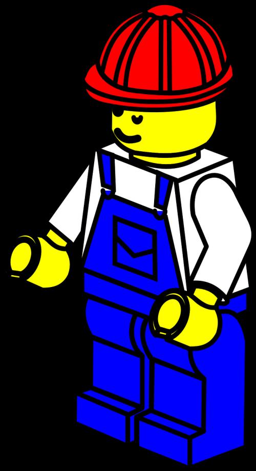 lego factory man