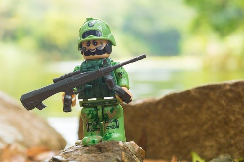 lego  nature  military