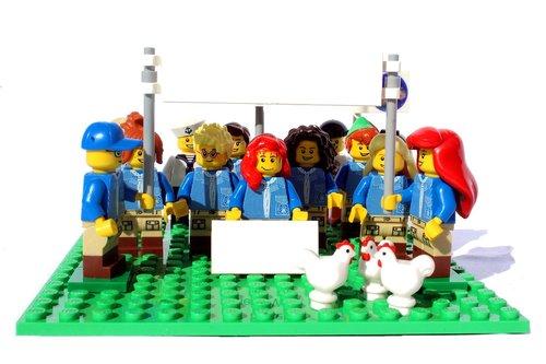 lego  mini figures  friday for the future