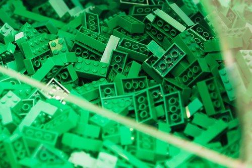 lego blocks  lego  green