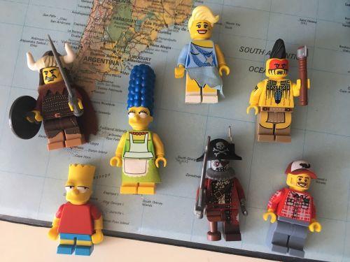 legogubbar legogummor lego