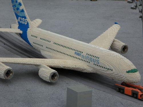 legoland aircraft from lego