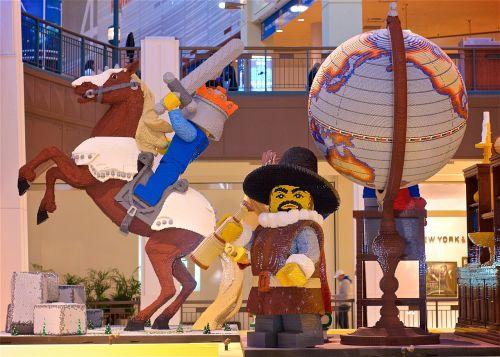 legos display mall