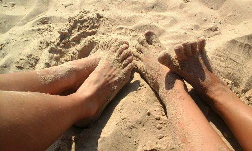 legs sand summer
