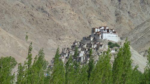 leh india monastery
