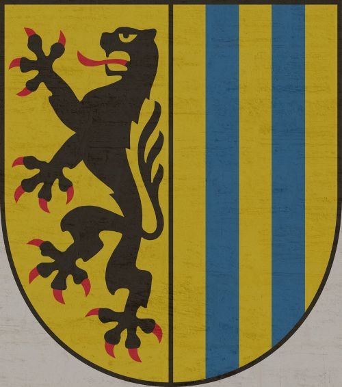 leipzig coat of arms city of leipzig