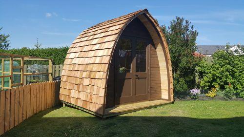 leisure pod garden annex garden building