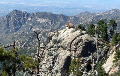 lemmon rock arizona mountains