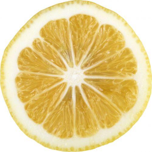 lemon lemon slice citrus