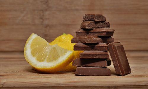 lemon chocolate sweet and sour