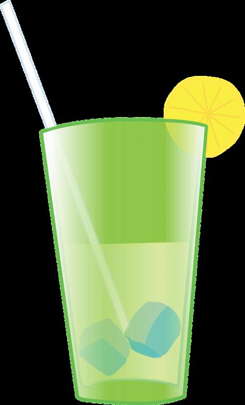 citrina,limonadas,stiklas,vasara,gerti,šiaudai,iškylai,atsipalaidavimas,nemokama vektorinė grafika