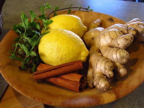 lemon ginger cinnamon