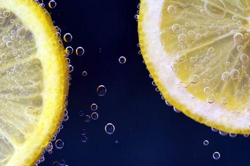 lemon lemon under water lemonade